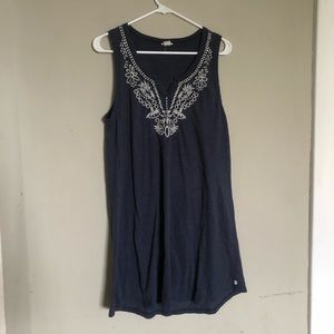 Lucky Brand navy dress